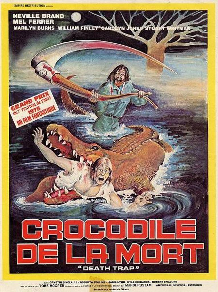 Le Crocodile de la mort = Eaten Alive / Tobe Hooper, réal.  