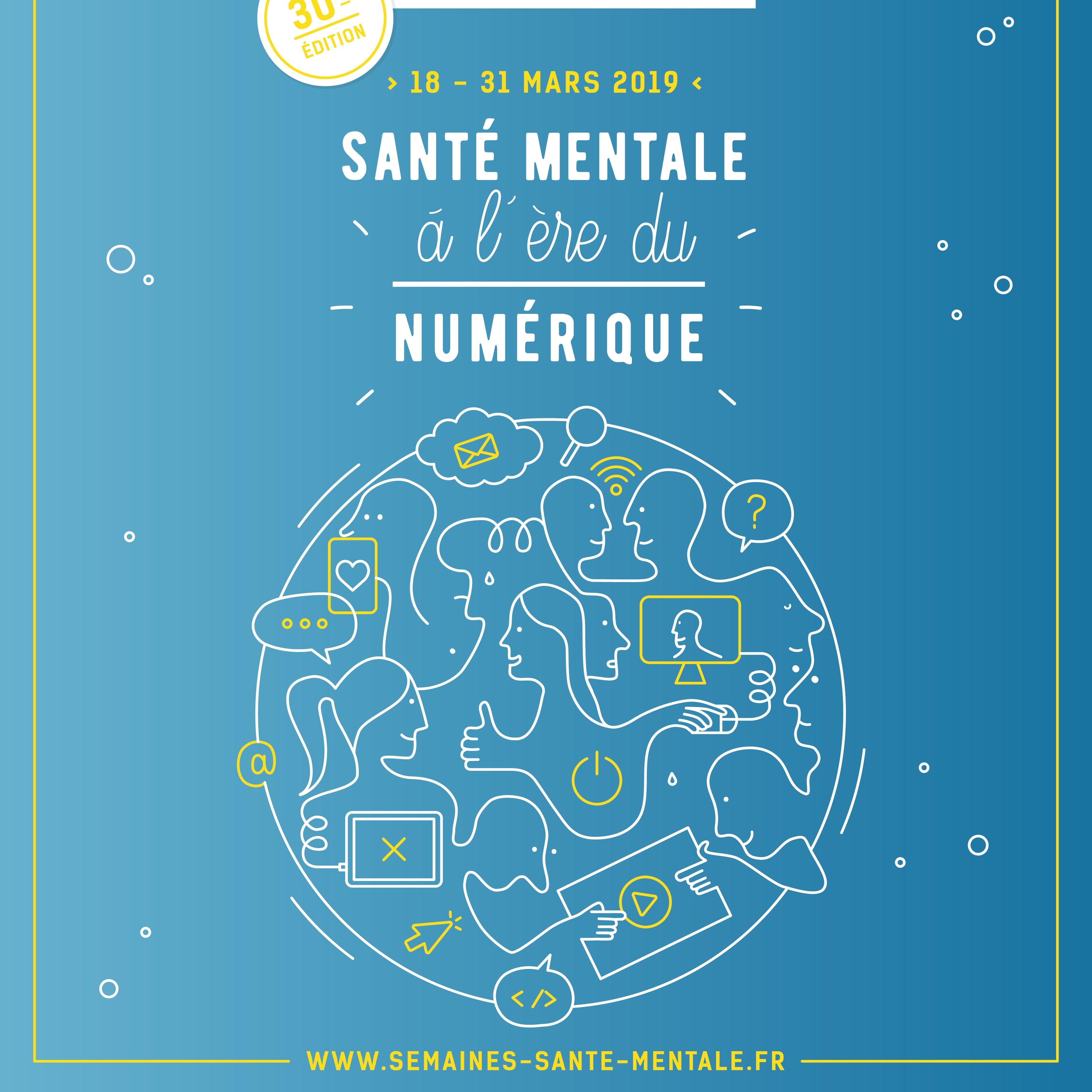 Semaines d'information sur la Santé Mentale - Débats mouvants // À l'ère du numérique |